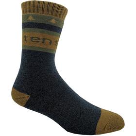 tentree Selkirk Knit Socks Dark Ocean Blue